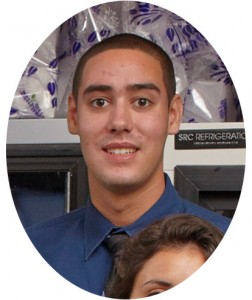 Vendor Relations Intern Kevin Sanches