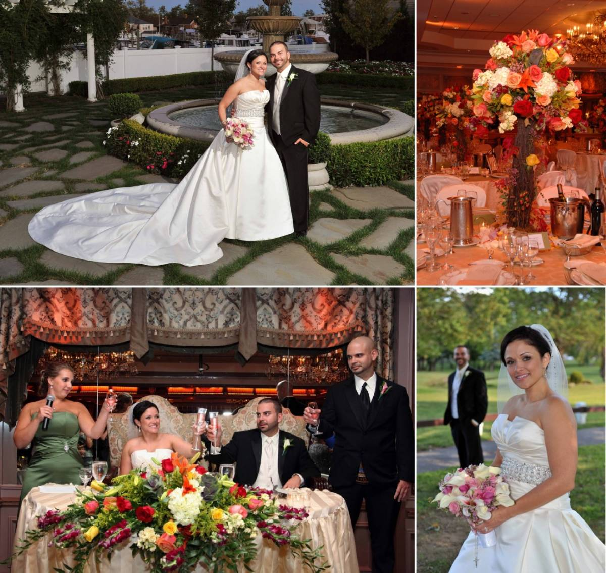 Kerri's Enchanted Forest Fall Wedding Flowers