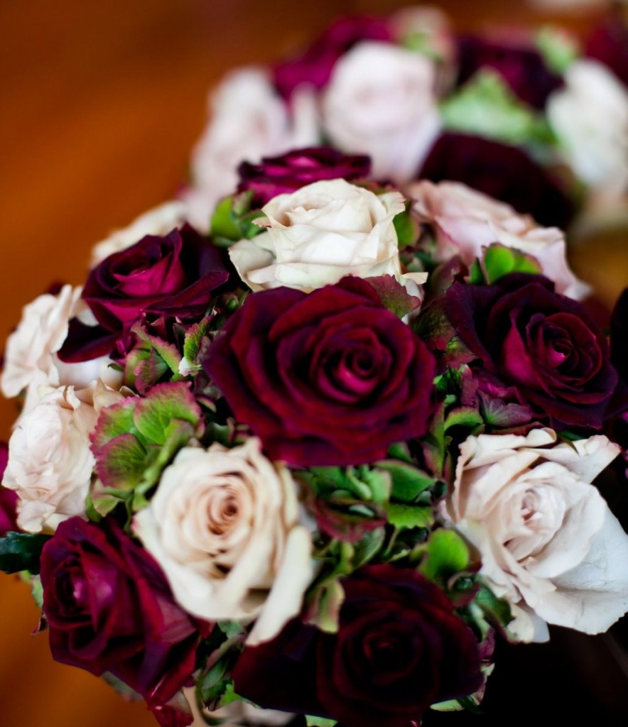 Marianna's Vineyard-Themed Fall Wedding Bridesmaid Bouquets