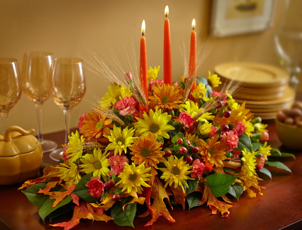 How to make a diy thanksgiving centerpiece petal talk