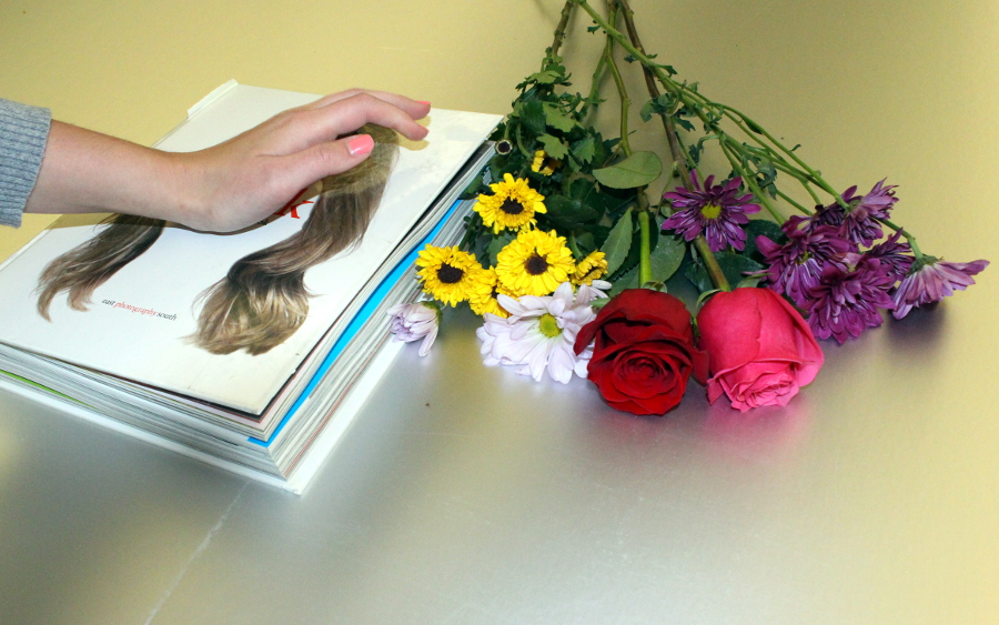 pressing-flowers