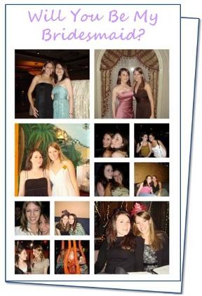 Bridesmaid Proposal Idea: Make a DIY Will You Be My Bridesmaid Card!