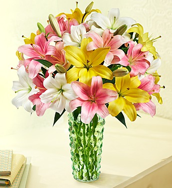 sweet-spring-lilies