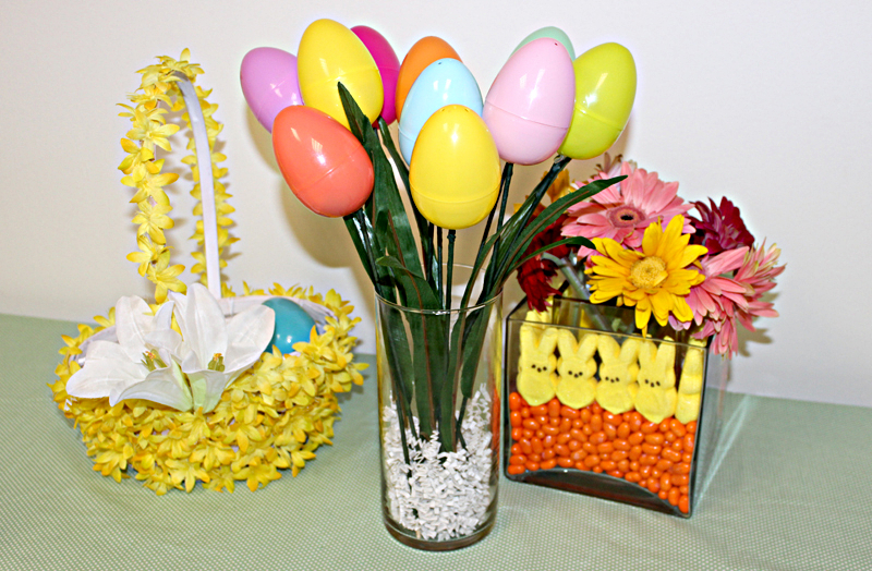 DIY Easter Egg Craft Bouquet