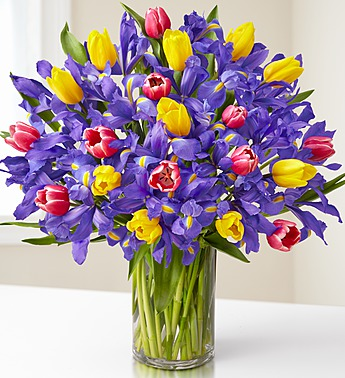 fanciful-spring-tulip-and-iris-bouquet