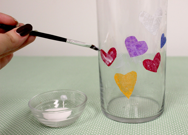 Mother's Day Craft for Kids DIY Photo Jar Paint