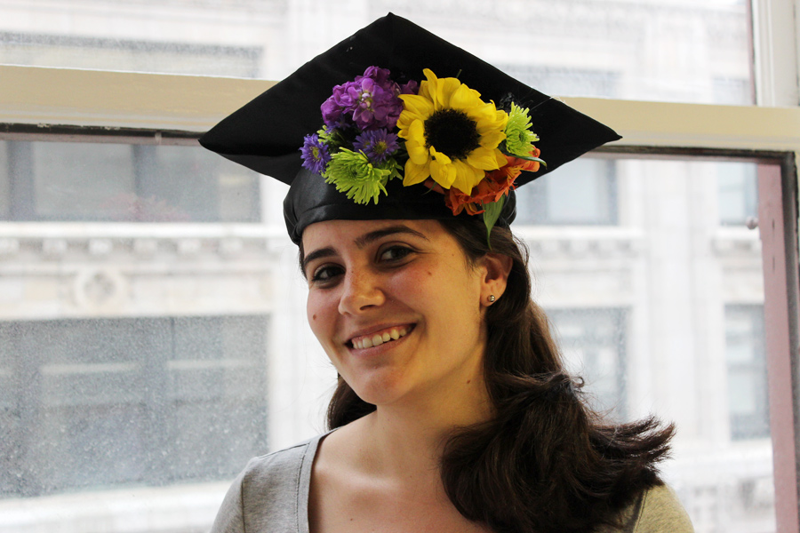 diy-graduation-cap-decorating-with-floral-crown