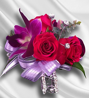 purple-and-hot-pink-corsage