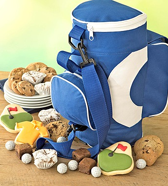 Father's Day Golf Cooler Gift With Cookies