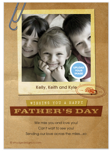 celebrations photo card fathers day