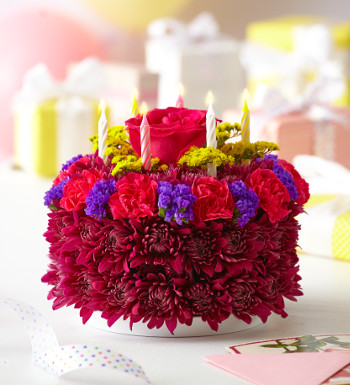 Fresh Flower Cake Birthday
