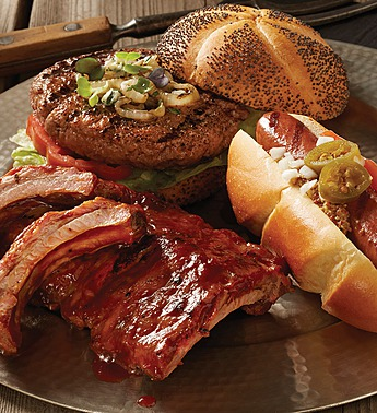 stock yards tailgate collection steak-burger 106668