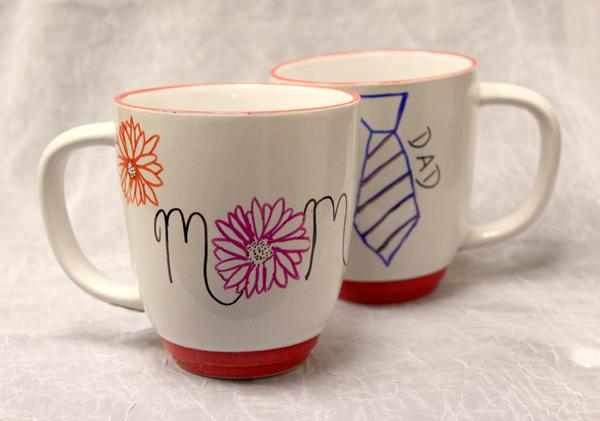 how to make a diy permanent marker mug petal talk