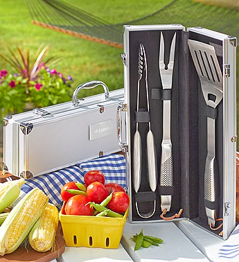 personalized grilling set 139094