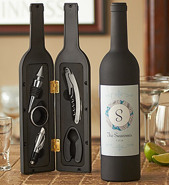 personalized on the go wine tool kit 139045
