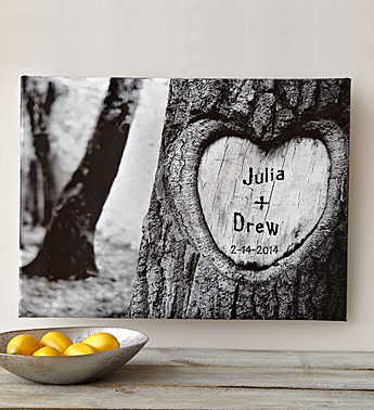 personalized tree of love canvas 89985
