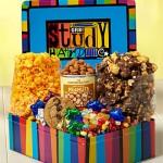 The Popcorn Factory Study Hard Deluxe Tin