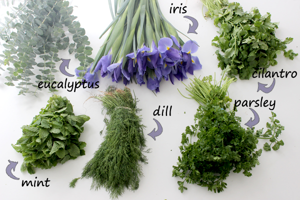 add-fresh-scent-with-flower-herb-bouquet-supplies