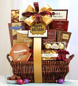 Our #1 Happy Birthday Deluxe Balsam Basket