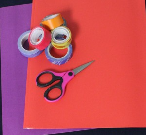 how-to-decorate-your-school-supplies-with-tape-flowers-supplies