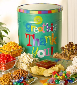 The Popcorn Factory® Big Thank You Snack Tin