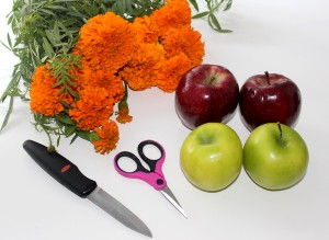 rosh-hashanah-decorations-diy-apple-vase-supplies