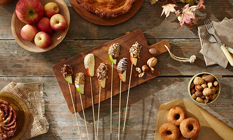 chocolate-covered-apples-buffet