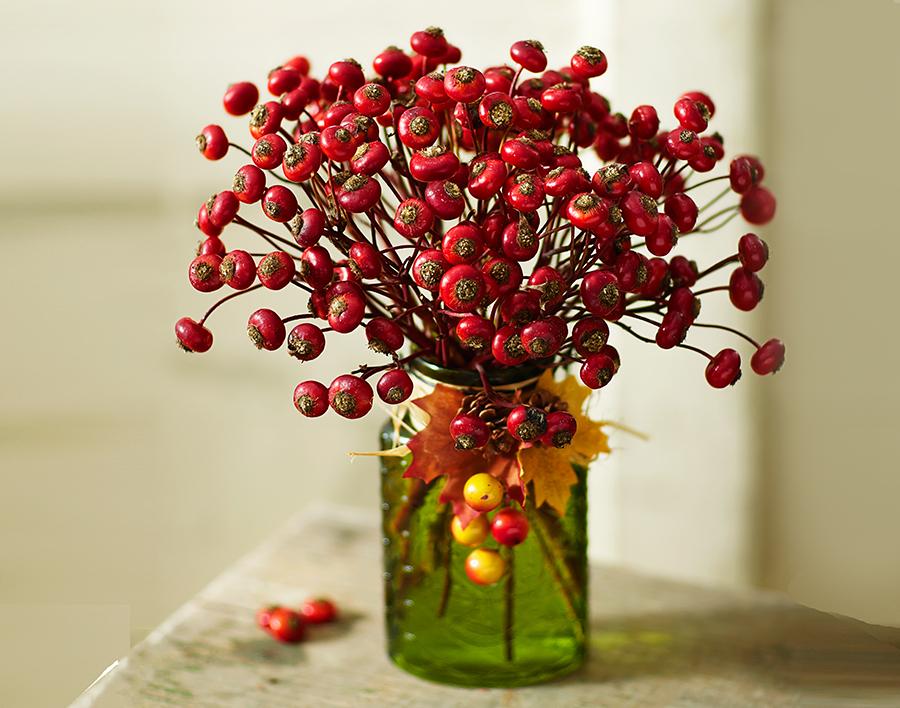 rose-hips-green-vase