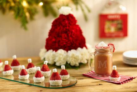 Santa hat crafts