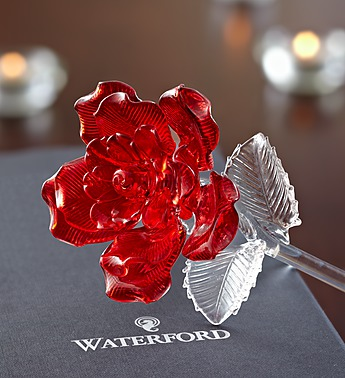 02-08-15 Waterford® Glass Rose
