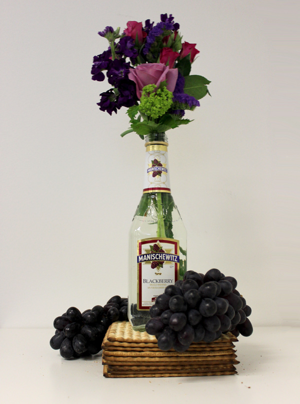 DIY-Manischewitz-Passover-Centerpiece-with-Flowers-steps