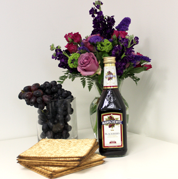 DIY-Manischewitz-Passover-Centerpiece-with-Flowers-supplies