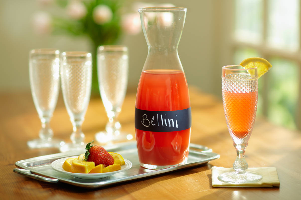 Grapefruit Bellini