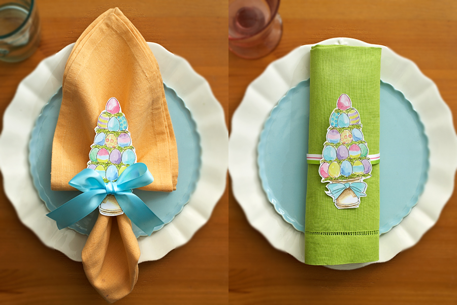 Easter Place Settings Napkin
