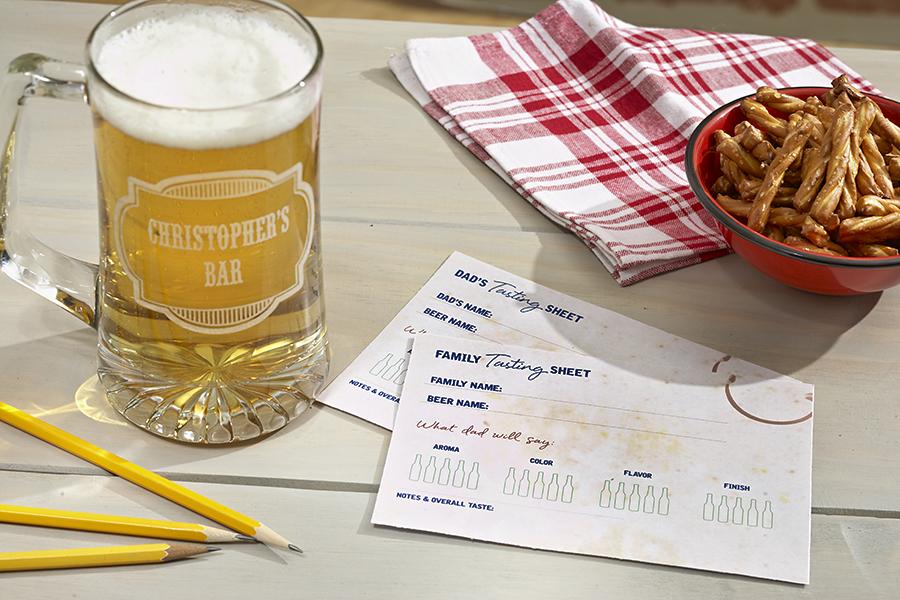 Beer Tasting Sheet