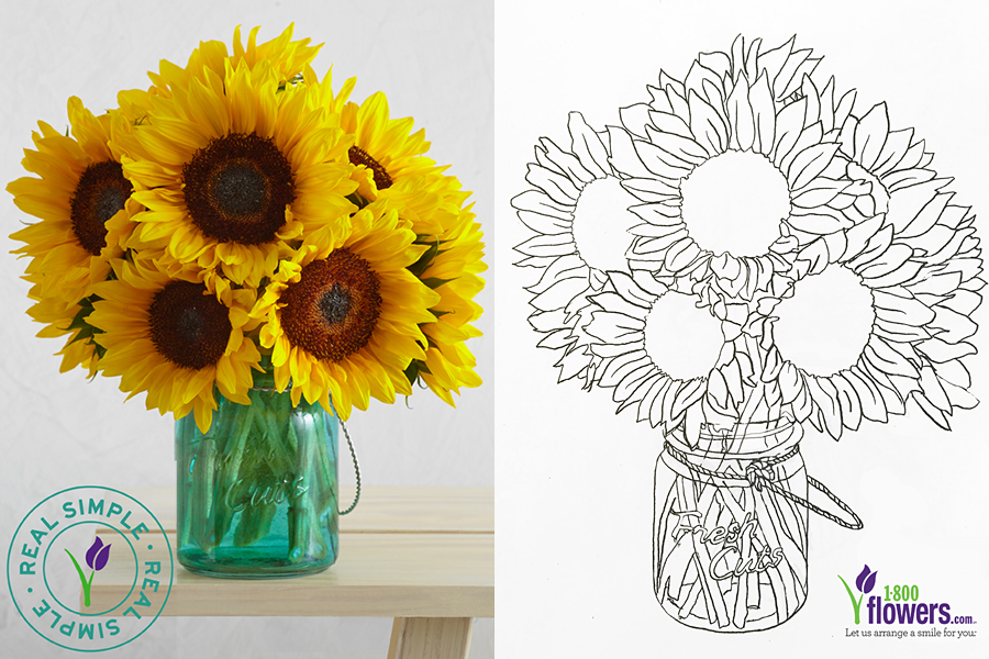 real-simple-sunflowers