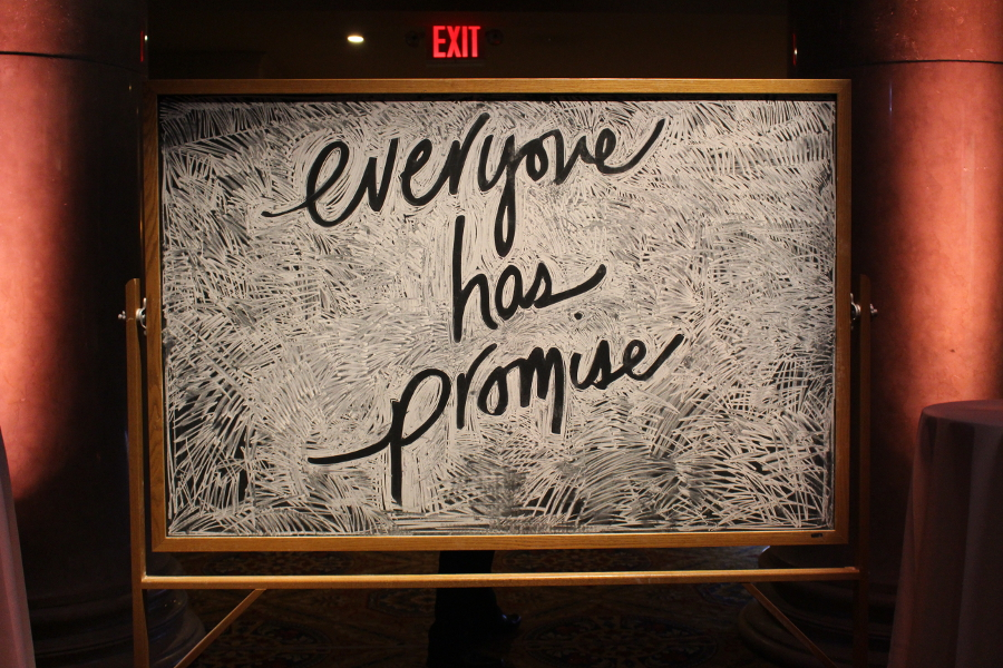 Everyone Has Promise Chalkboard Art