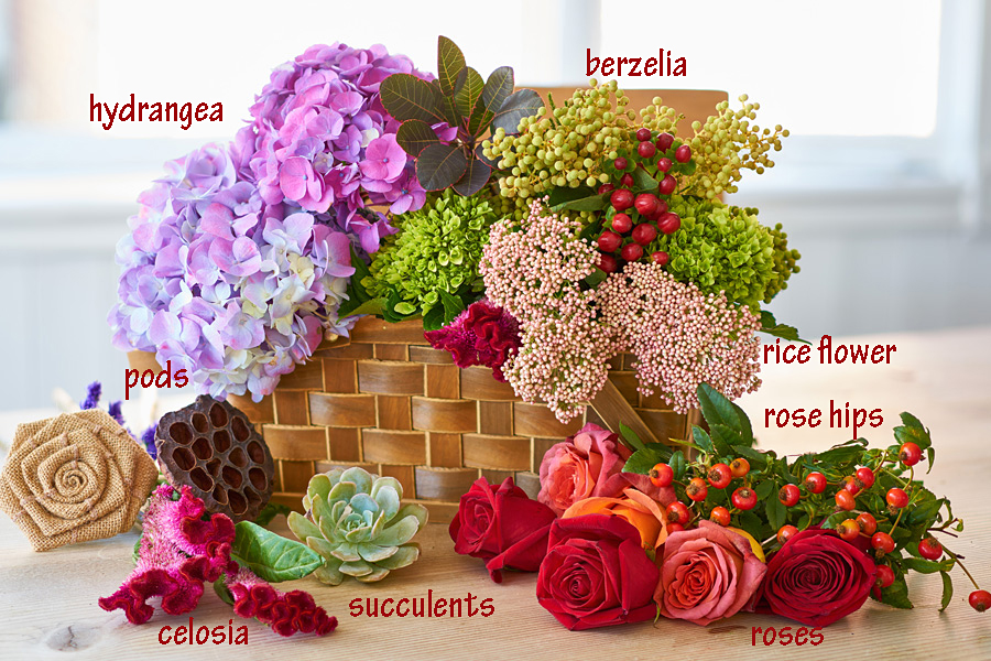 Recipe for Floral Wreath Centerpiece