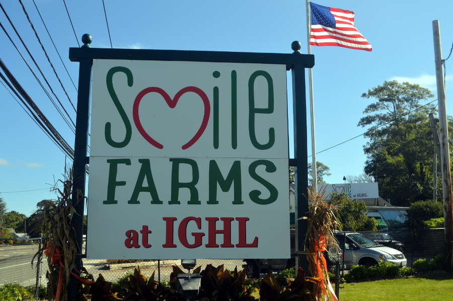 Smile Farms at IGHL Sign