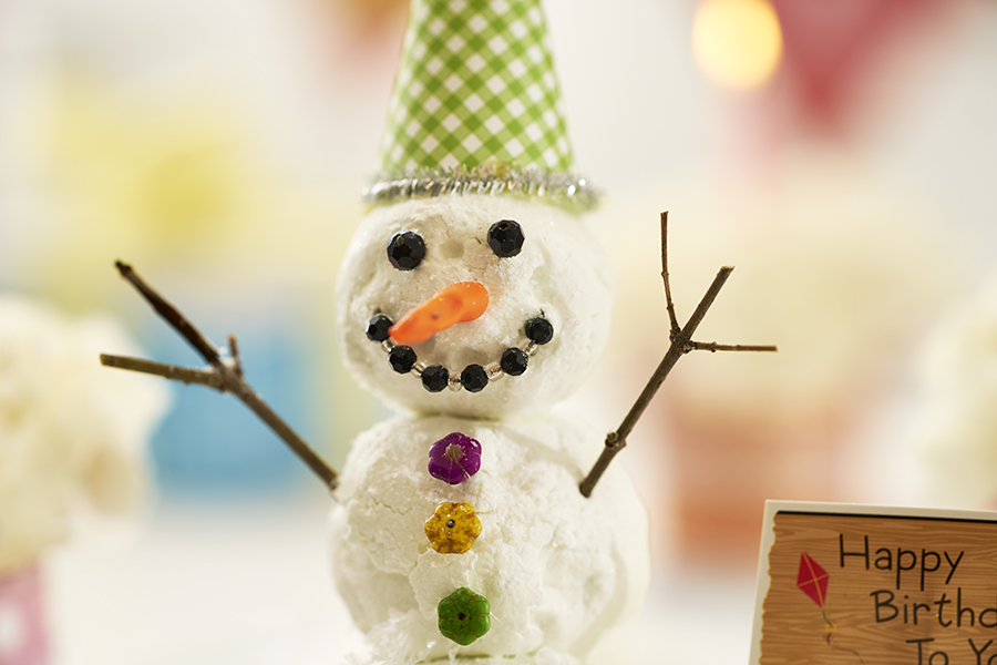 DIY Snowman Without Snow