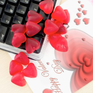 hearts-on-office-keyboard