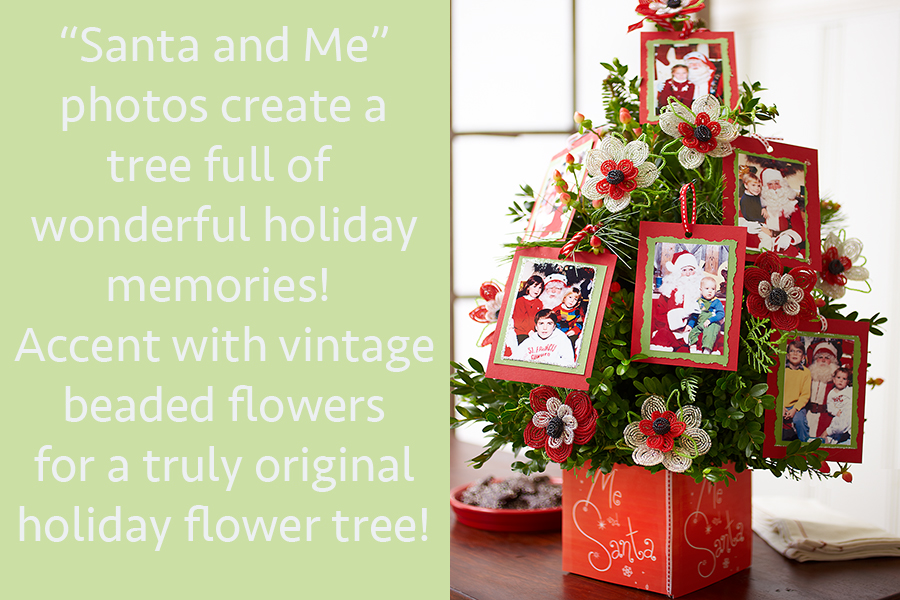 Santa and Me Photo Tree