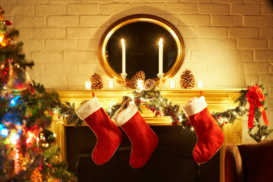 stockings-above-fireplace