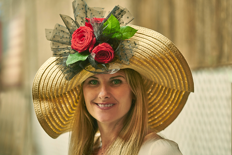 How to Make a Kentucky Derby Hat with Flowers  3dfcfbb5687