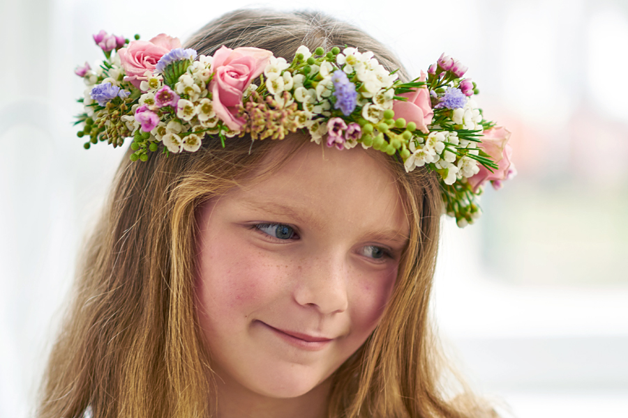Flower Crown on Girl