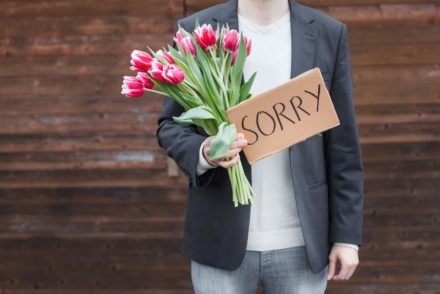 I'm sorry flowers