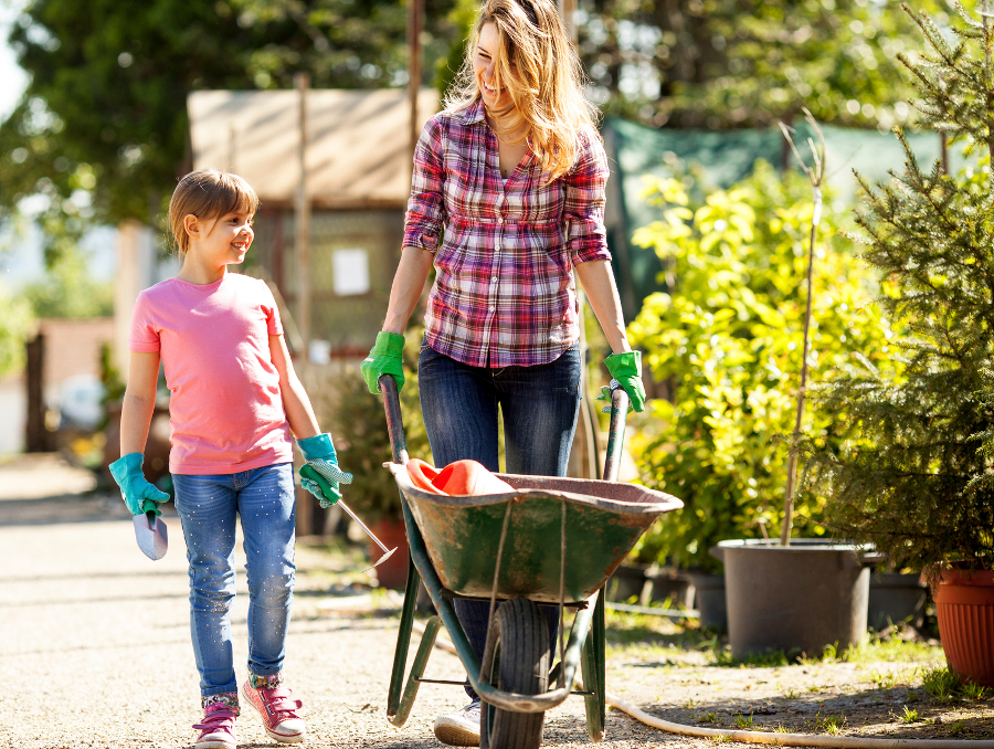 mother-and-daughter-gardening