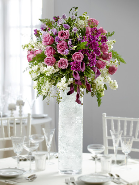 purple-wedding-centerpiece