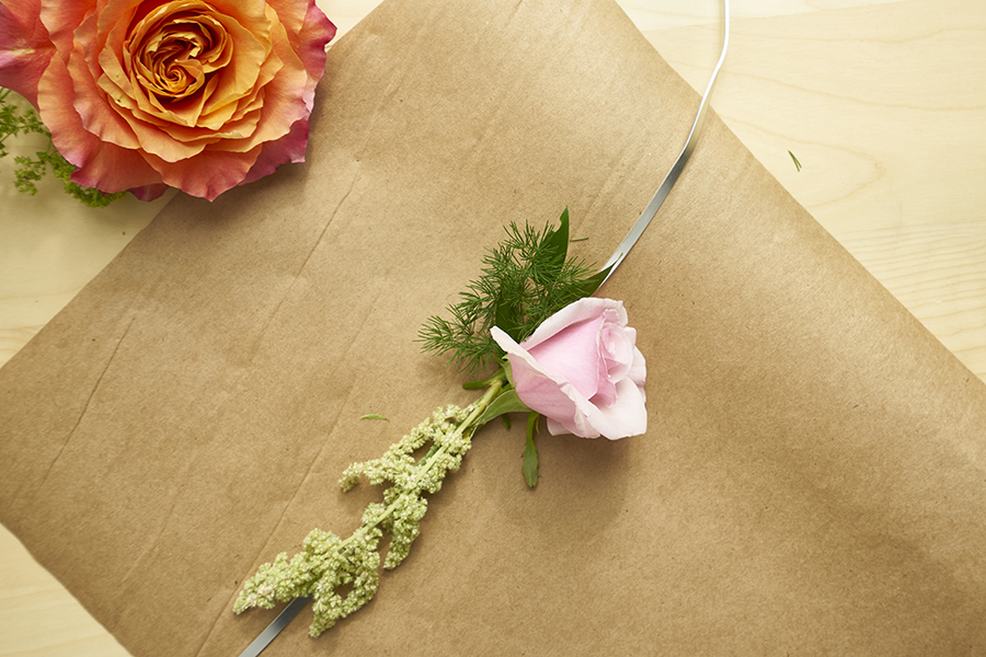 rose-on-wire