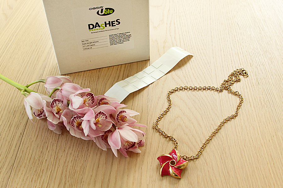 orchid-necklace-supplies